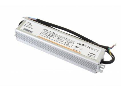 LED zdroj 12V 100W HPS-12-100 Záruka 5 let - 12V 100W zdroj HPS-12-100 Záruka 5 let