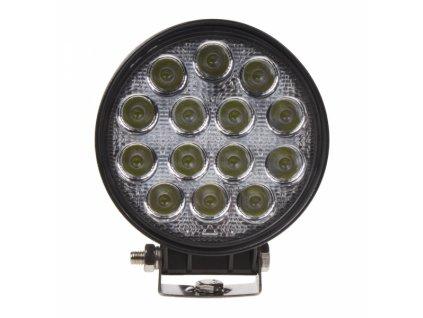 LED světlo 10-30V, 14x3W, R10, rozptýlený paprsek
