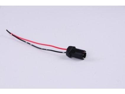 patice pro žárovku T10/T13/T15 plastová nasouvací
