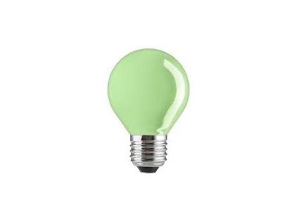 Barevná žárovka E27 15W 230V zelená GE