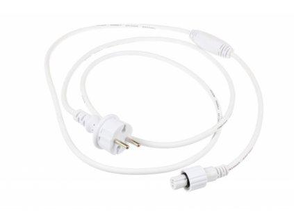 Napájecí kabel 12W200 2m - Napájecí kabel pro LED světelný řetěz 12W200 2m