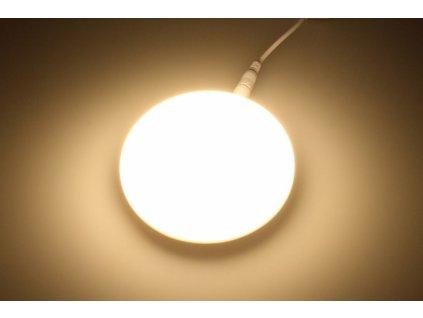 KZ9 LED podhledový panel 9W kulatý 90mm - Teplá bílá