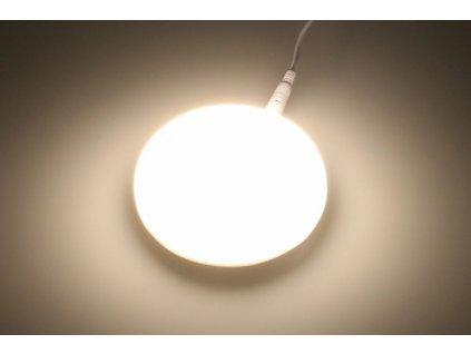 KZ9 LED podhledový panel 9W kulatý 90mm - Denní bílá