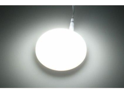 KZ9 LED podhledový panel 9W kulatý 90mm - Studená bílá