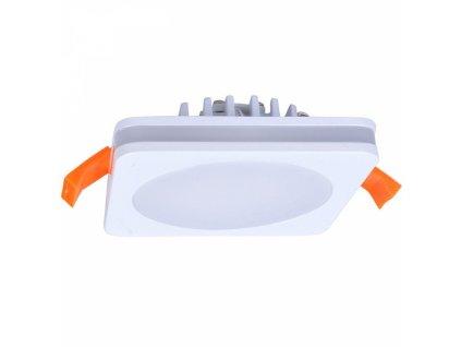 LED podhledové svítidlo, 10W, 800lm, 4000K, IP44, čtvercové