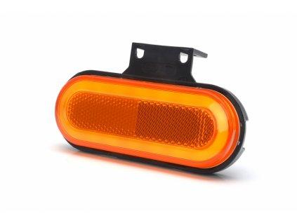 světlo poziční W198/1399 12+24V neon oranžové