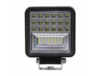 LED světlo obdélníkové, 42x3W, ECE R10