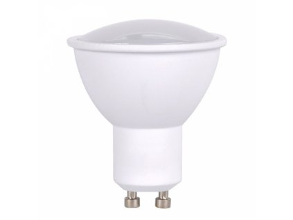 LED žárovka, bodová , 7W, GU10, 3000K, 560lm, bílá