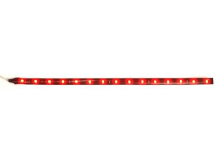 samolepící LED pás 30cm 15ks SMD LED červený
