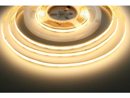 LED pásek 12COB10 vnitřní záruka 3 roky - Teplá bílá
