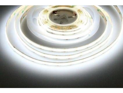 LED pásek 12COB10 vnitřní záruka 3 roky - Studená bílá