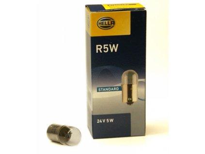 Autožárovka Hella R5W 24V 5W 071-241