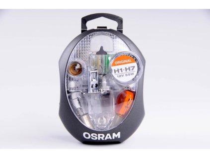 servisní krabička OSRAM 12V H7 + H1