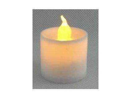 LED hřbitovní svíčka na hrob 3,5 x 3,5cm