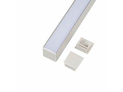 Koncovka profilu N4-P plastová - N4-P plastová koncovka