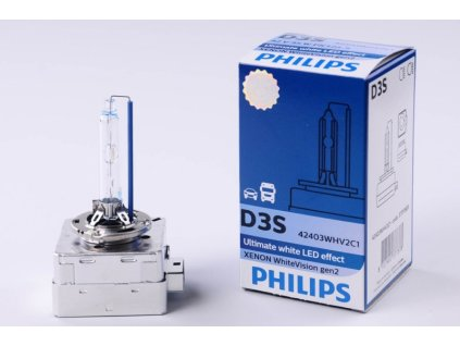 výbojka xenonová D3S 42V 35W P32d-5 WhiteVision PHILIPS