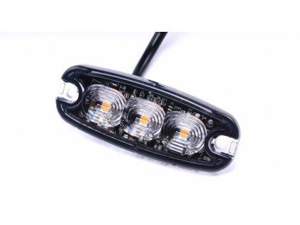 světlo výstražné LED oranžové PREDATOR 3*3W