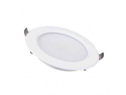 LED podhledové svítidlo 18W 230V 1440lm 4000K 140° stříbrná barva