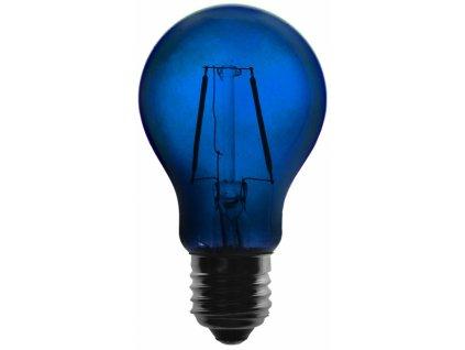 Žárovka LED FILAMENT A60, 36V ss., modrá