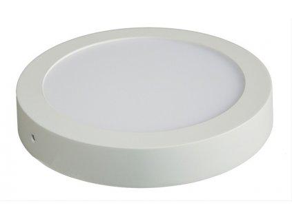 LED přisazené svítidlo 12W, 900lm, 4000K, kulaté, bílé