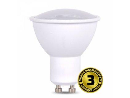 LED žárovka, bodová , 5W, GU10, 3000K, 425lm, bílá