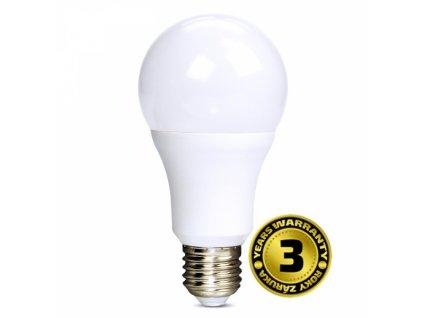 LED žárovka, klasický tvar, 12W, E27, 6000K, 270°, 1010lm