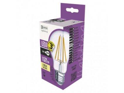 LED žárovka Filament A60 A++ 11W E27 teplá bílá