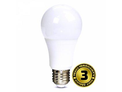 LED žárovka, klasický tvar, 10W, E27, 6000K, 270°, 810lm