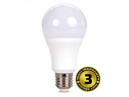 LED žárovka, klasický tvar, 15W, E27, 6000K, 270°, 1220lm