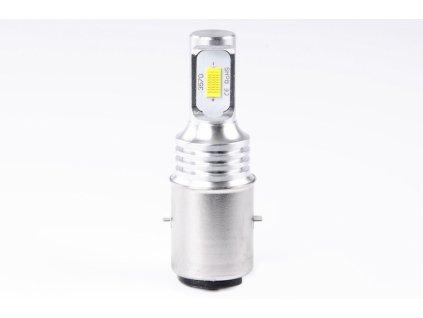 žárovka LED 12V-24V 35/25W BA20d čirá