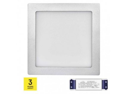 LED panel TRIAK 224×224, čtvercový přisazený stř., 18W n. b.