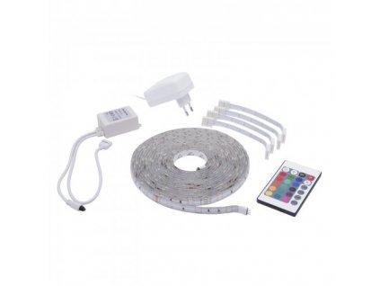 LED pásek sada Epistar RGB 5m, 30LED/m, P65, dálkové ovládání