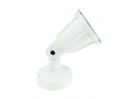 Venkovní nástěnný reflektor KERTGU10W max. 5W LED/GU10 230V/IP54, bílý