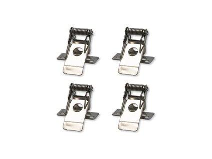montážní klipy pro instalaci LED panelů o rozměru 595x595mm do podhledů, 4ks