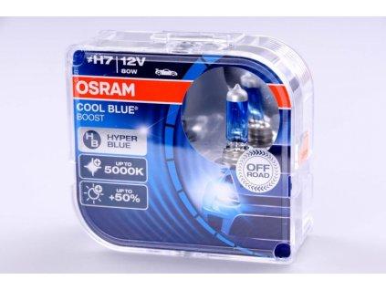 krabička H7 12V 80W PX26d Cool Blue Boost 2ks BOX OSRAM