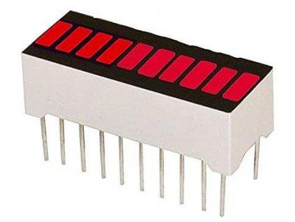 Bargraf SHB10R, 10x LED, červený