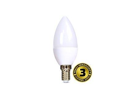 LED žárovka svíčka 6W E14 3000K 420lm