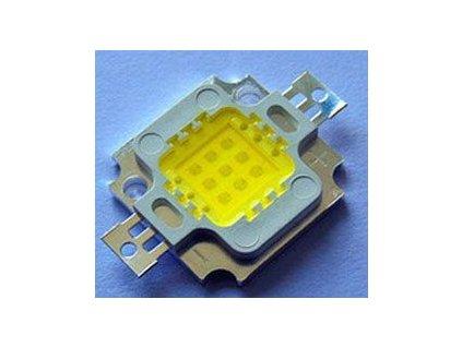 LED 10W Epistar, denní bílá 4000K, 950lm/300mA, 120°, 26-28V