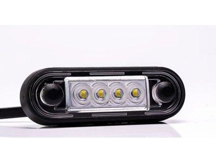 světlo poziční FT-073 B LED 12+24V bílé