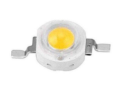 LED 3W bílá 6000K, 180lm, 3,2-3,6V, 120°