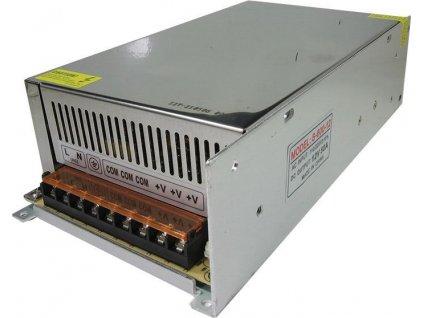 Průmyslový zdroj S-600-12, 12V=/600W spínaný