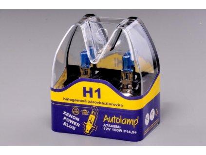H1 12V 100W XENON POWER BLUE 2ks v blistru