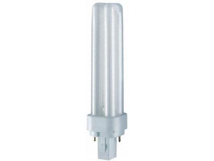 OSRAM DULUX D G24d-3 26W/830 úsporná žárovka