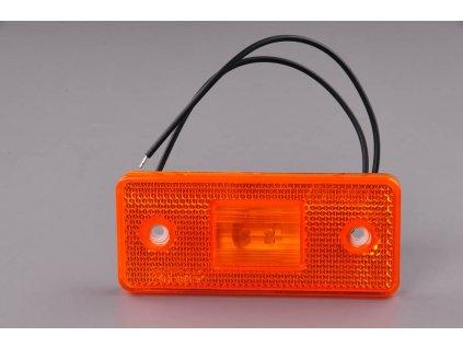 světlo poziční W17D (101P) oranžové LED 12V+24V