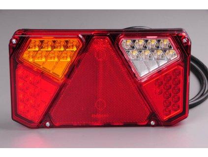 Světlo zadní sdužené LED W125/915 levé 12/24V