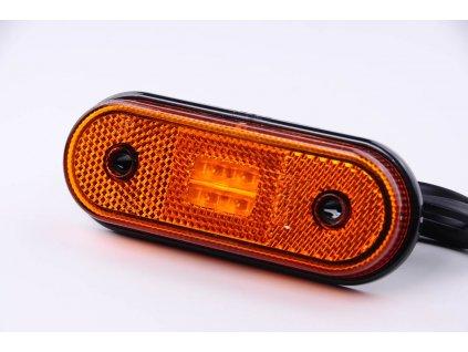 světlo poziční FT-20 LED 12+24V oranžové