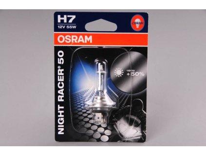 žárovka H7 12V 55W PX26d NIGHT RACER 50 OSRAM