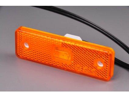 světlo poziční W44 (217P) oranžové LED 12V+24V