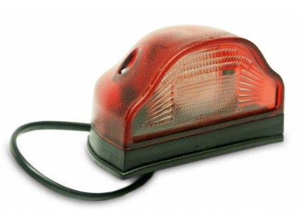 světlo pro osvětlení SPZ LED 12V+24V červené