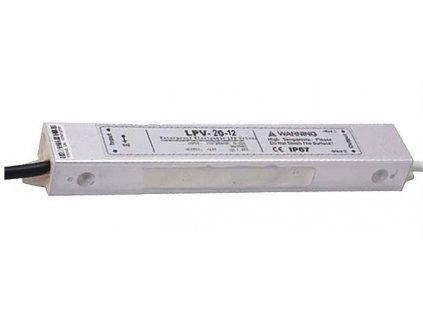 Zdroj - LED driver 12V DC/20W - Carspa LPV-20-12